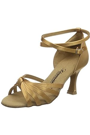 Diamant Women's Damen Latein Tanzschuhe 109-087-087 Ballroom Dance Shoes, - (Bronze)