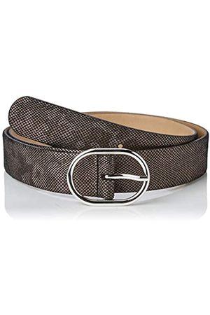 BRAX Women's Ledergürtel mit Glanzfolie Belt