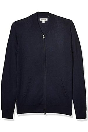 Goodthreads Merino Wool Bomber Sweater Navy