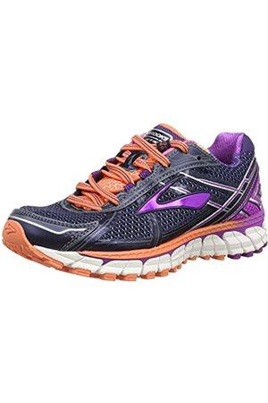Brooks Women's Adrenaline GTS 15 Running Shoes Blau (Peacoat/PurpleCactusFlower/FreshSalmon) 5 UK (38 EU)
