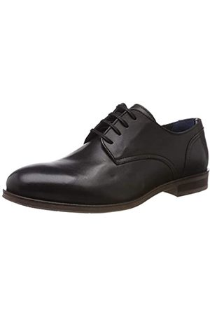 Tommy Hilfiger Herren Dress Casual Leather Shoe Oxfords, Schwarz ( 990)