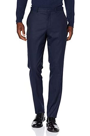 Selected Homme Men's Slhslim-mylostate Dk TRS B Noos Suit Trousers