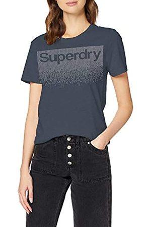 Superdry Women's Swiss Logo Cascade Entry Tee T-Shirt