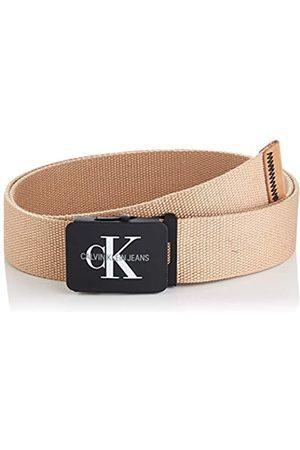 Calvin Klein Men's J 4cm Adj.Monogram Canvas Belt