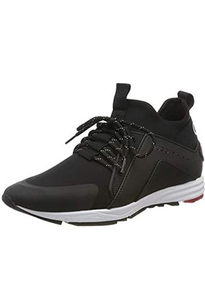 HUGO BOSS Women's Hybrid_runn_lylg Low-Top Sneakers, ( 001)