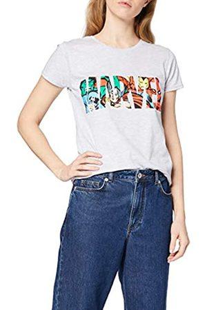Marvel Women's Logo Character Infill T-Shirt