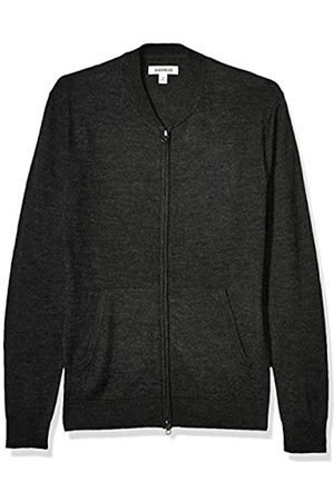 Goodthreads Merino Wool Bomber Sweater Charcoal