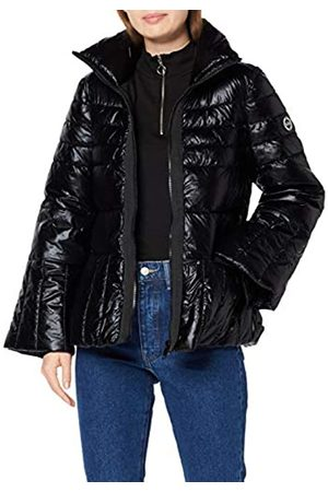 Armani Exchange Women's Turtle Neck Zip Coat Bomber Jacket