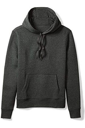 Amazon Essentials Hooded Fleece Sweatshirt (Charcoal Heather)