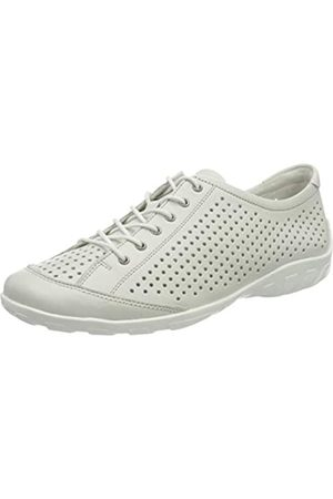 Remonte Women's R3401 Low-Top Sneakers, (Bianco 80)