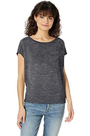 Daily Ritual Women's Cozy Knit Dolman Short-Sleeve Tie-Back Shirt