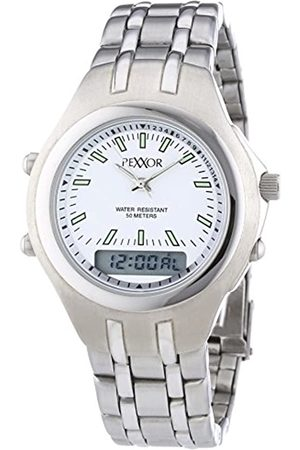 Rexxor Men's Quartz Watch with Dial Display and Metal Strap 242-7904-18