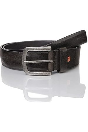 LINDENMANN The Art of Belt Mens leather belt/Mens belt, full grain leather belt with embossing, unisex, Größe/Size:105