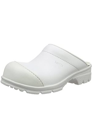Sanita San-Duty Open-SB, Unisex Adults' Clogs, - Weiß ( 1)