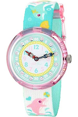 Flik Flak Girls' Analogue Quartz Watch with Textile Bracelet – FBNP035