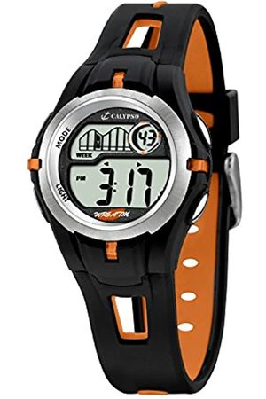 Calypso Children's Digital Watch with LCD Dial Digital Display and Plastic Strap K5506/2