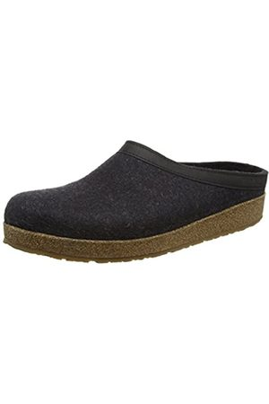Haflinger Unisex Adult Grizzly Torben Slippers,Gray (graphite 77)