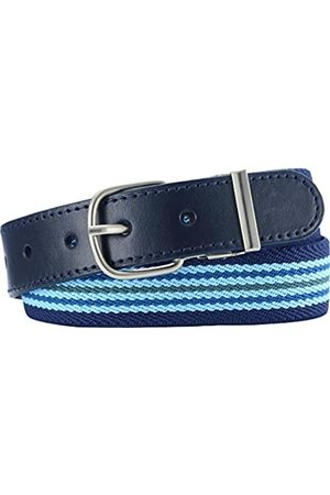 Playshoes Girls' Elastik-Gürtel Ringel Belt