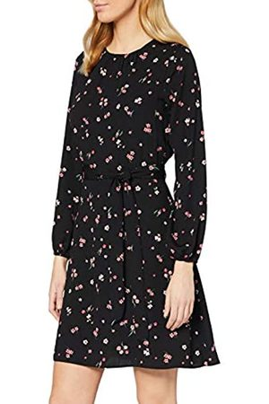 Dorothy Perkins Women's Floral Long Sleeve Fit and Flare Dress Casual