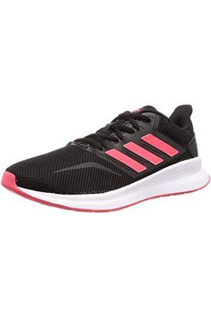 adidas Runfalcon, Women's Trail Running Shoes, Black (Core Black/Shock Red/Ftwr White)