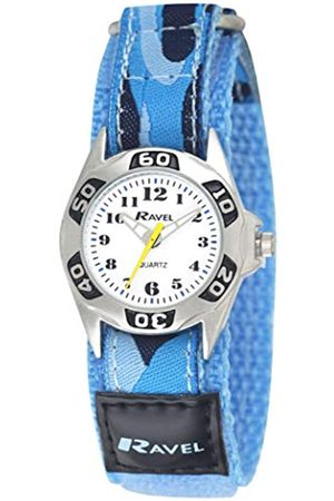 Ravel Children's Camouflage Army Watch with Easy Fasten Action Strap
