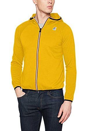 K-way Men's's Le VRAI 3.0 Victor Unisex Jacket , ( Mustard XCC)