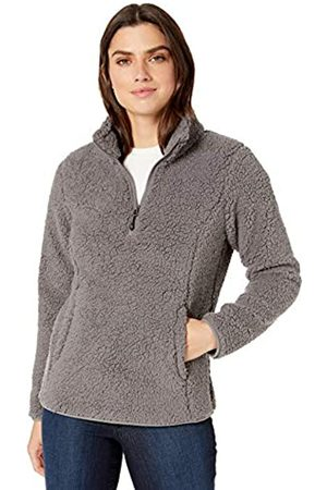 Amazon Essentials Polar Fleece Lined Sherpa Quarter-zip Jacket Medium