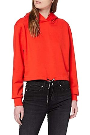 Calvin Klein Jeans Women's Draw Cords Hoodie Sweatshirt