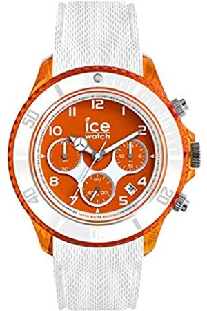 Ice-Watch ICE dune White red - Men's wristwatch with silicon strap - Chrono - 014221 (Large)