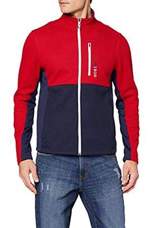 Izod Men's Colorblock Shaker Fleece Jacket Cardigan