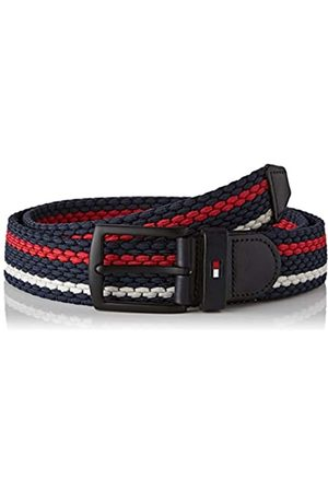 Tommy Hilfiger Men's Denton Elastic Stripe 3.5 Belt
