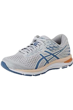 ASICS Women's Gel-Cumulus 21 Running Shoe, Polar Shade/Gray Floss