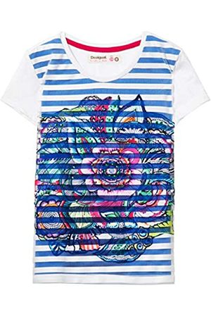 Bambina Desigual Girl Knit T-Shirt Short Sleeve TS/_Bismarck