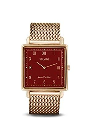 Selvine Womens Analogue Quartz Watch with Stainless Steel Strap SOLY15