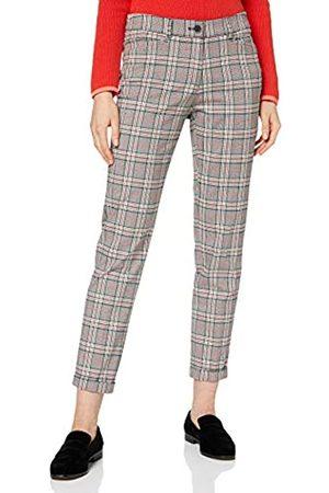 Brax Women's Maron Glencheck Trouser