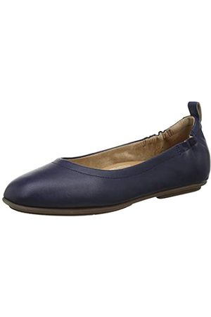 FitFlop Women's Allegro Closed Toe Ballet Flats, (Midnight Navy 399)