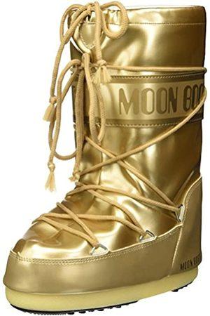 Moon-boot Unisex Kids Vinil Met Snow Boots, (Oro 003)