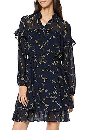 Apart Women's Printed Chiffon Dress