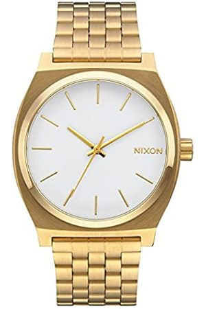Nixon Unisex Analogue Quartz Watch with Stainless Steel Plated Strap A045508-00