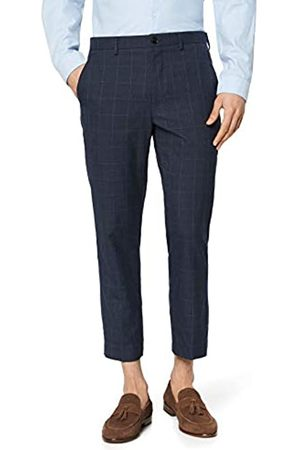 find. Tapered Slim Check Trouser