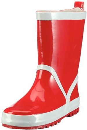 Playshoes Unisex-Child Wellies Basic Wellington Boots,