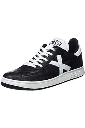 Munich Unisex Adults' Orion Low-Top Sneakers, (Negro/Blanco 01)