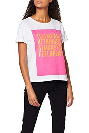 Springfield 4.2.t.fucsia-naranja Text T-Shirt Women's X-Large (Manufacturer's size:XL)