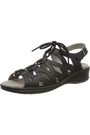 Jenny Women's Korfu 2256522 Gladiator Sandals (Schwarz 01) 9 UK