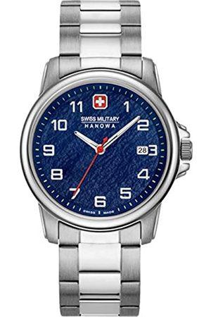 Swiss Military Hanowa Unisex Adult Analogue Quartz Watch with Stainless Steel Strap 06-5231.7.04.003