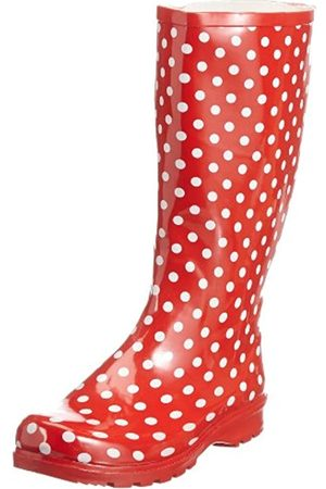 Playshoes Women's 190100 Boots , (rot 8)