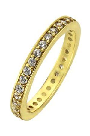 ZEEme 358270091-1-056 Women's Ring - Sterling and Zirconium Oxide - 3.1 g
