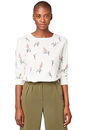 TOM TAILOR Women's Blumenprint Sweatshirt