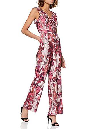 Little Mistress Women's Marlowe Floral Frill Jumpsuit