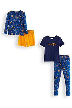 RED WAGON Amazon Brand - Boy's Cotton Pyjama Set, Pack of 2, 5 Years